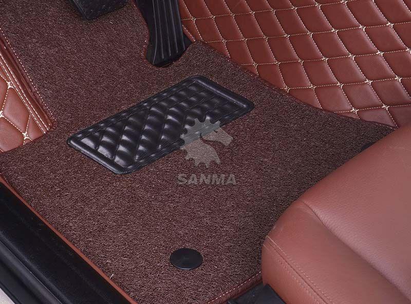 Car Interior Double Layer Floor Mat