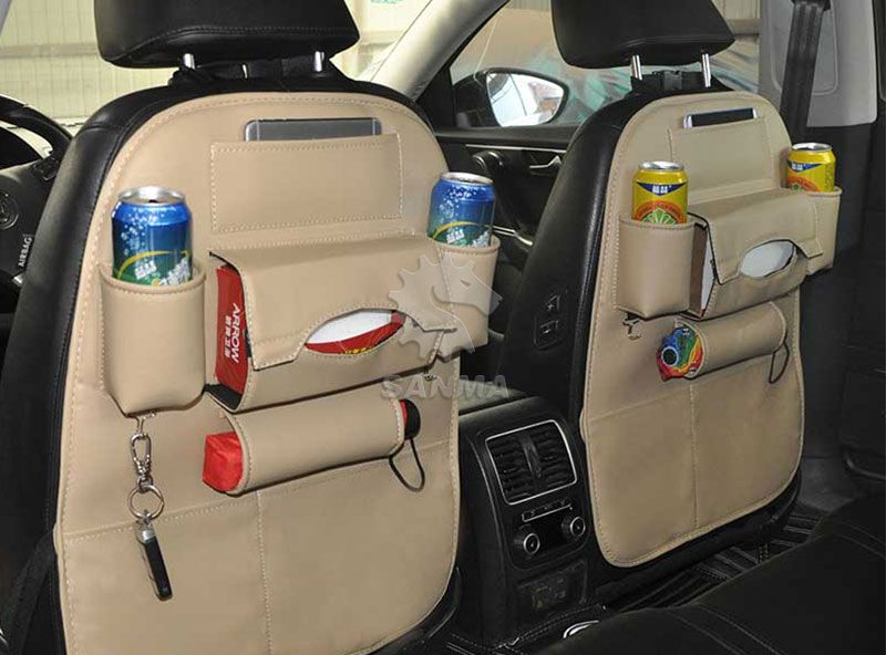 Back Seat Organizer Without Tray